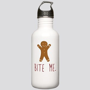 Grouchy Gingerbread Stainless Water Bottle 1.0L