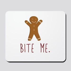 Grouchy Gingerbread Mousepad