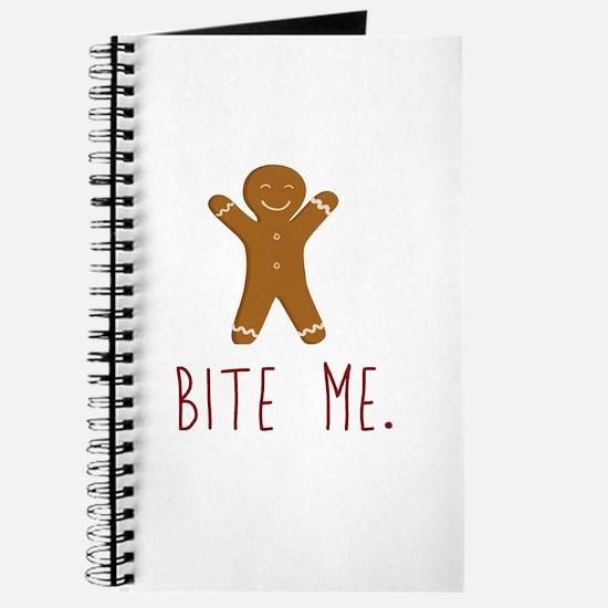 Grouchy Gingerbread Journal