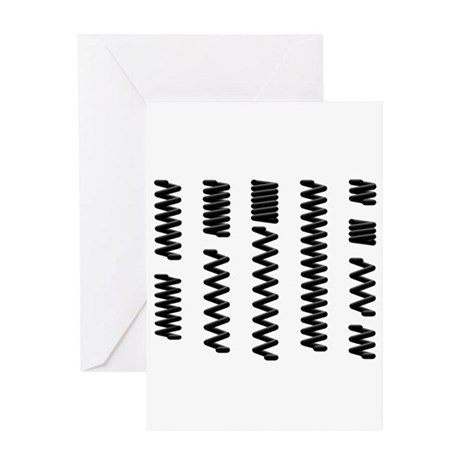 Coil Springs Greeting Cards