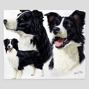 Bor Collie blanket King Duvet