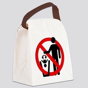 No-Trashing-Babies Canvas Lunch Bag