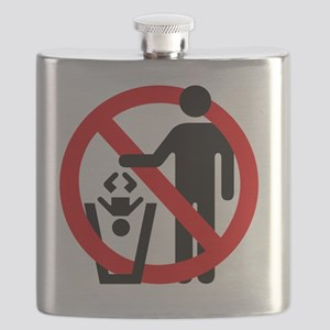 No-Trashing-Babies Flask