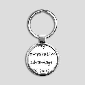 fixed_comparative_advantage2 Round Keychain