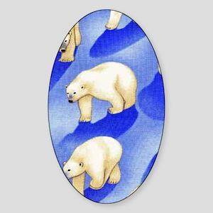 po Sticker (Oval)
