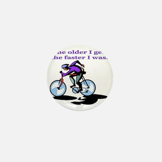 cyclist Mini Button