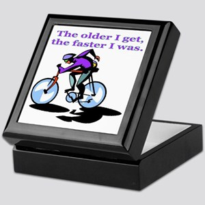 cyclist Keepsake Box