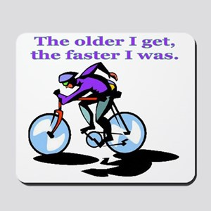 cyclist Mousepad