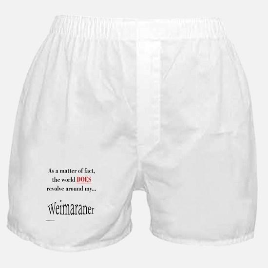 Weimaraner World Boxer Shorts
