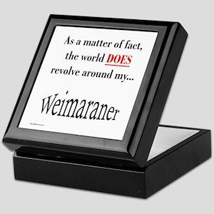 Weimaraner World Keepsake Box