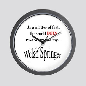 Welsh Springer World Wall Clock