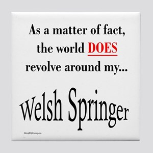 Welsh Springer World Tile Coaster