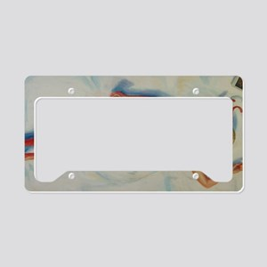 Small Print Bathing Beauty License Plate Holder