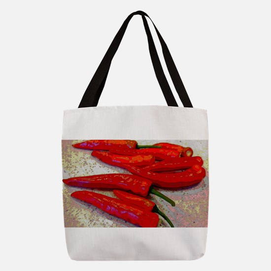 Peppers Polyester Tote Bag