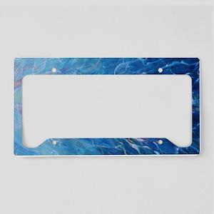 Small Print Skinny Dip License Plate Holder