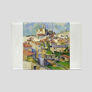 Garddanne - Paul Cezanne - c1885 Magnets