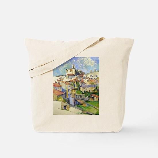 Garddanne - Paul Cezanne - c1885 Tote Bag