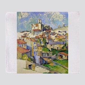 Garddanne - Paul Cezanne - c1885 Throw Blanket