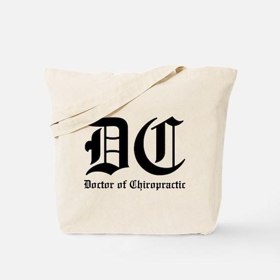 Doctor of Chiro Tote Bag