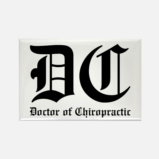 Doctor of Chiro Rectangle Magnet