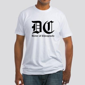 Doctor of Chiro Fitted T-Shirt
