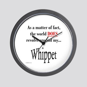 Whippet World Wall Clock