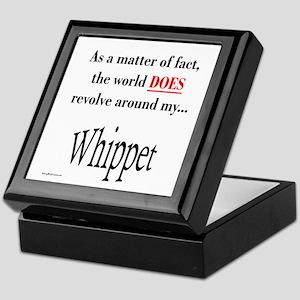 Whippet World Keepsake Box