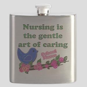 nursing blue bird school Flask
