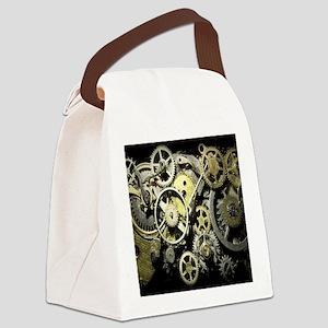 GearsBLANKET Canvas Lunch Bag