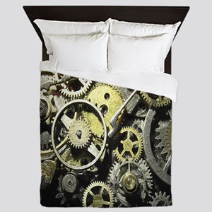 GearsBLANKET Queen Duvet