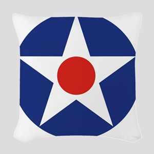 SB1 Woven Throw Pillow