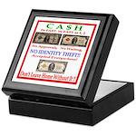 CASH Keepsake Box