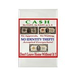 CASH Rectangle Magnet (10 pack)