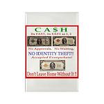 CASH Rectangle Magnet (100 pack)