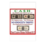 CASH Postcards (Package of 8)
