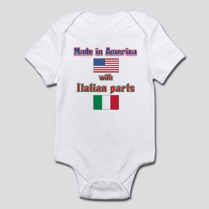 Italian american made Infant Bodysuit