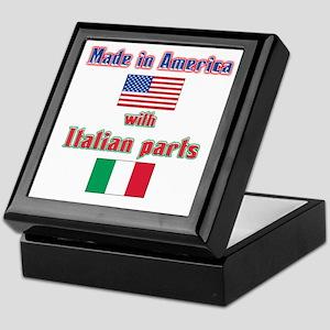Italian american made Keepsake Box