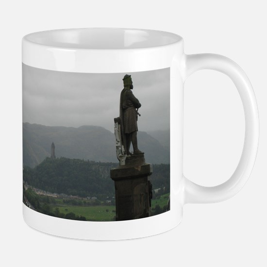 Wallace monument from Stirling Castle Mug