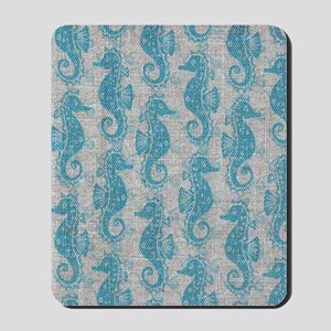 sea horse Mousepad