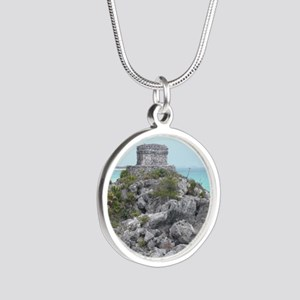CIMG3177 Silver Round Necklace