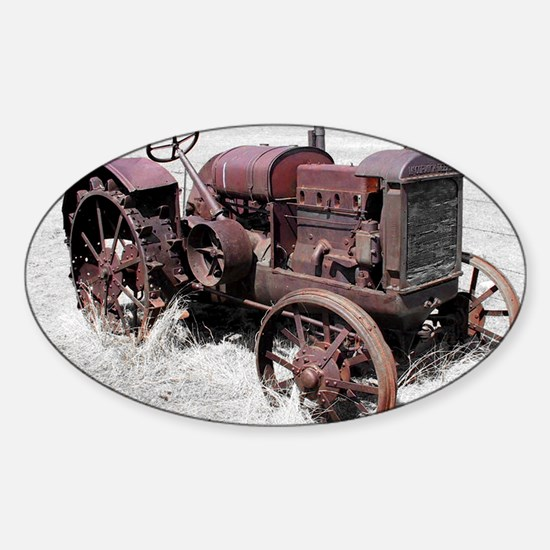 TRACTOR MP Sticker (Oval)