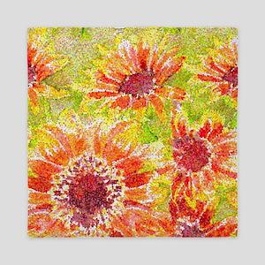 sunflowers_repeat_4_highres Queen Duvet