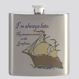 Juneflower Always Late Flask