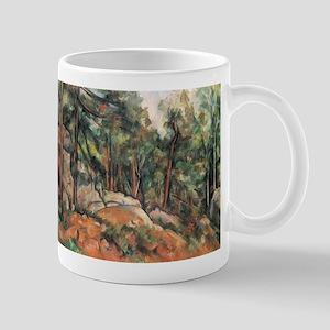 In the Forest - Paul Cezanne - c1898 11 oz Ceramic