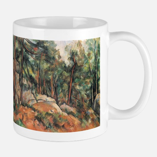 In the Forest - Paul Cezanne - c1898 Mug
