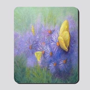 Yellow Butterflies (2) Mousepad