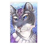 """Regal Tigress"" - Postcards"
