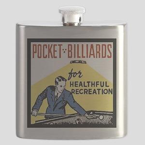 Pocket Billiards Flask