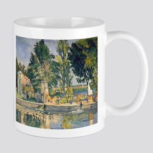Jas de Bouffan The Pond - Paul Cezanne - c1876 11