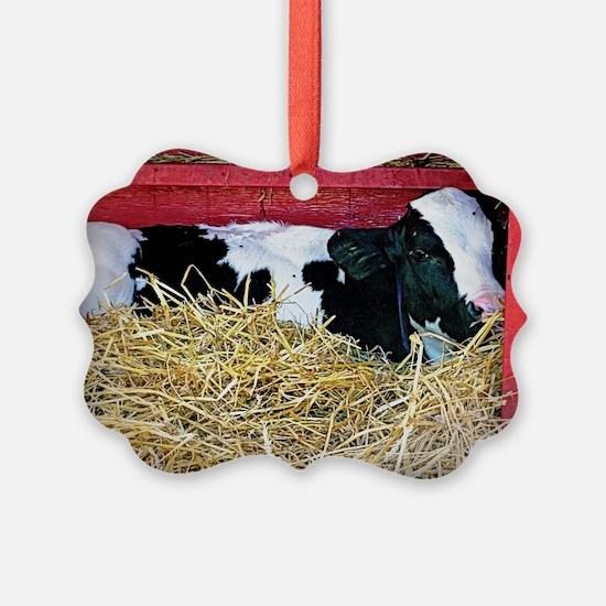 Cow Photo Ornament